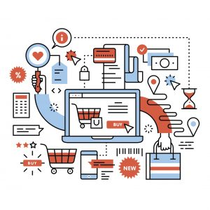 Ecommerce business concept - PIM