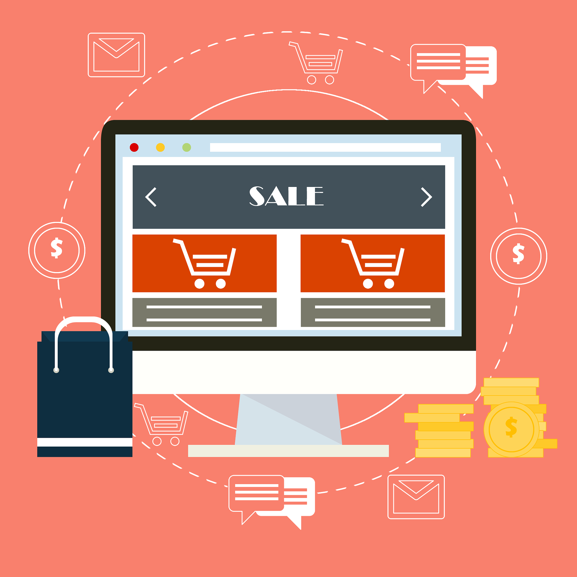 Ecommerce Rich Product Content desktop