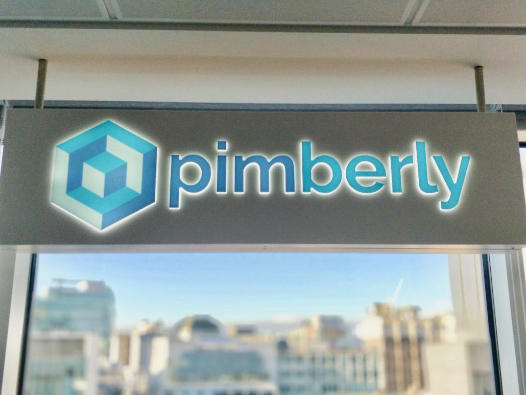 pimberly blue office sign manchester