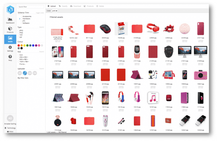 Pimberly digital assets: filter pink