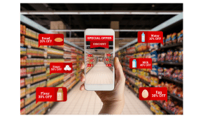 mobile phone augmented reality ecommerce experience
