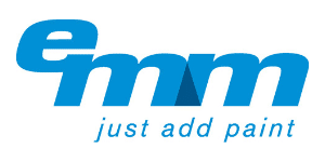 EMM Just Add Paint logo