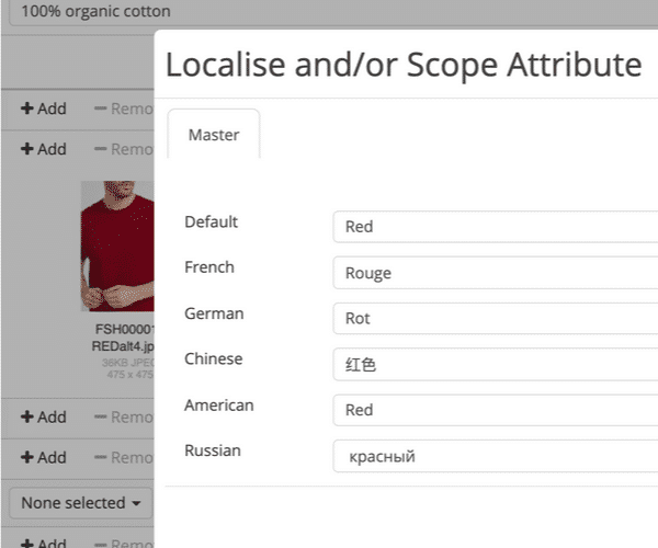 Screenshot of Localisation & scoping in Pimberly