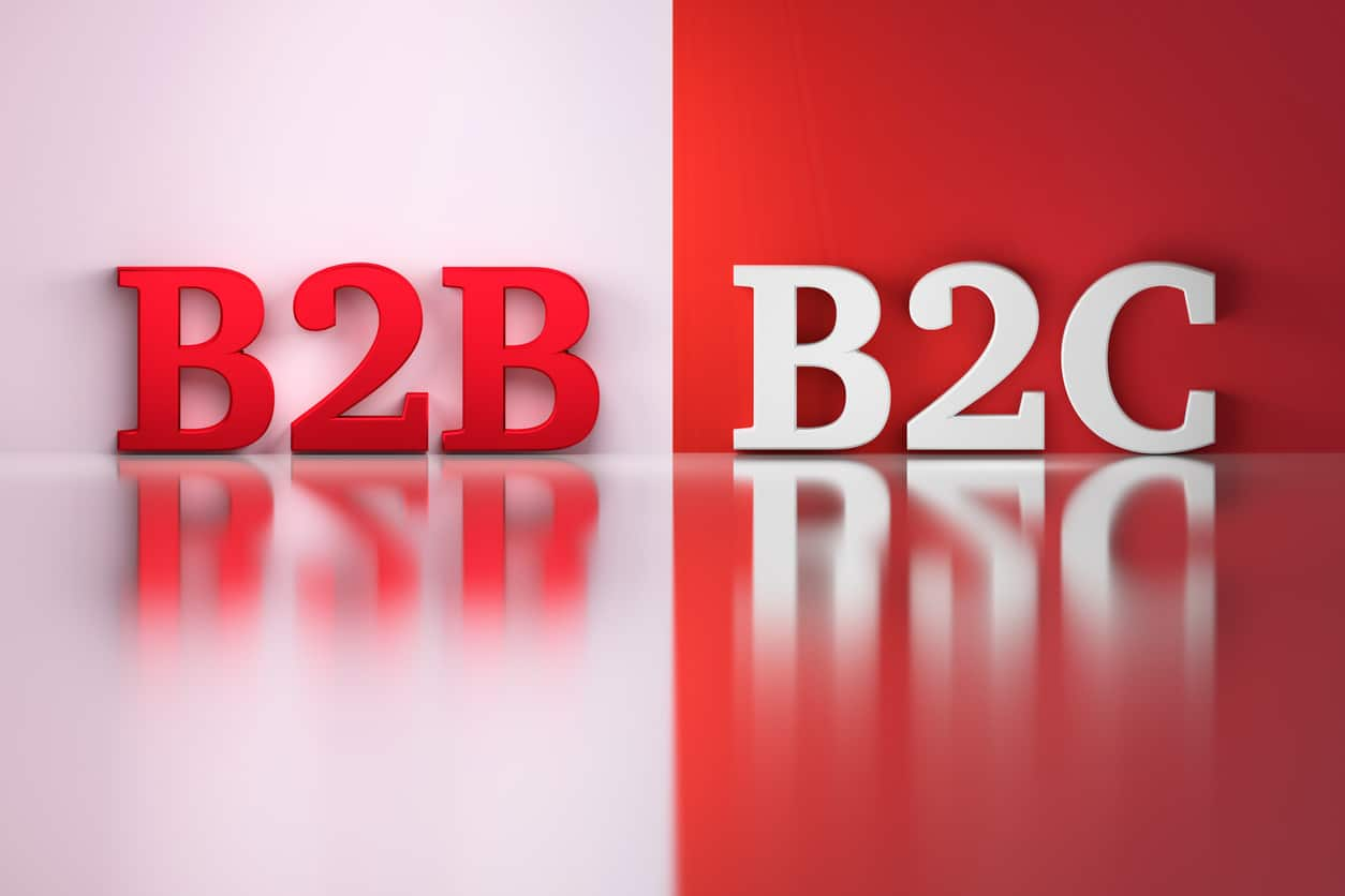 The buying preferences of a B2B and B2C audience are different and manufacturers must cater to both to be successful.