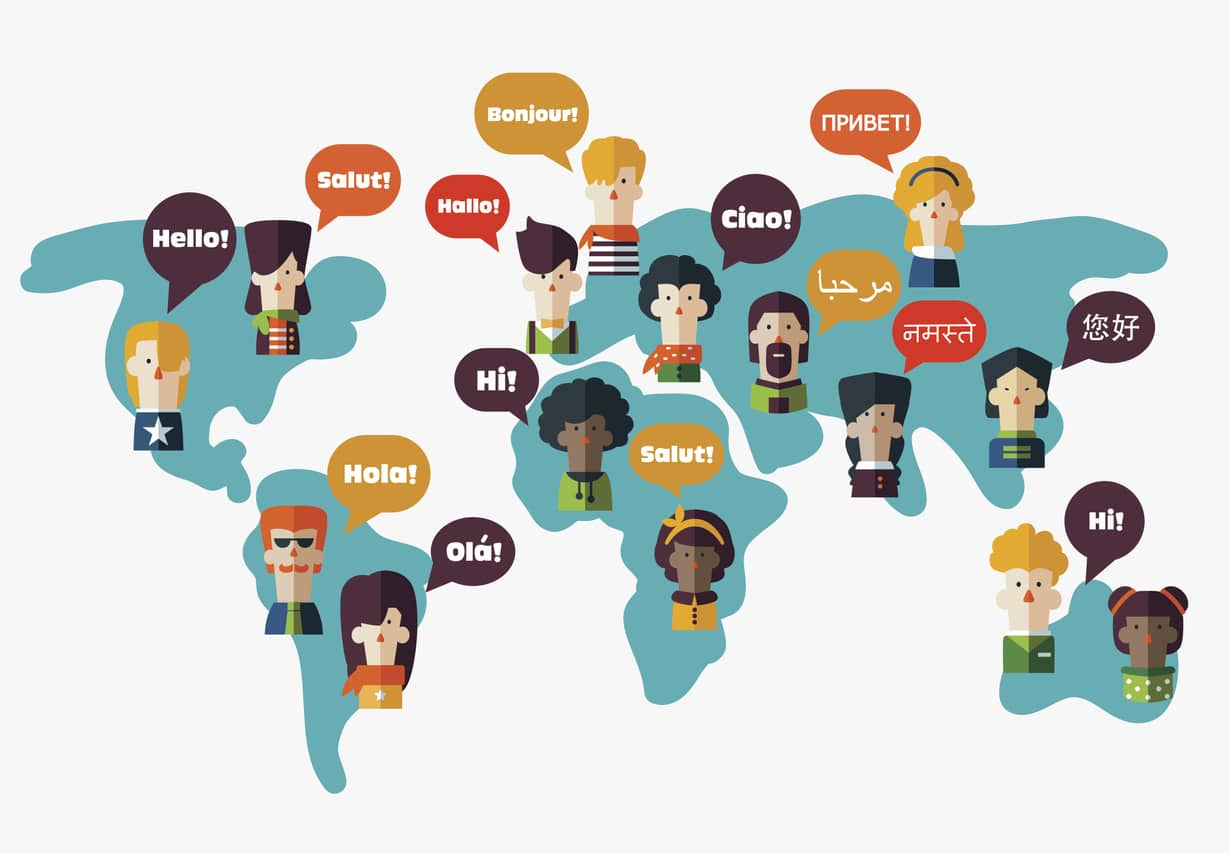 Different languages are one of the most important factors to consider when selling products in new countries.