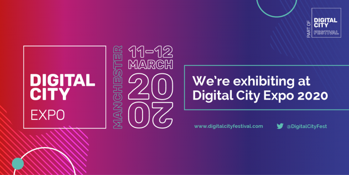 As event partners of The Digital City Festival, we're looking forward to exhibiting at the Digital City Expo.