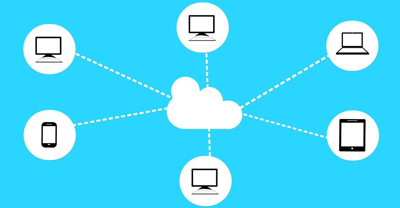 Cloud software is provided by a third-party provider and can be accessed from multiple devices.