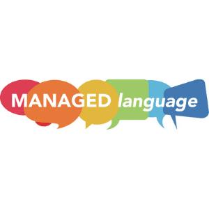 Managed language logo