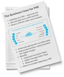 The Business Case for PIM