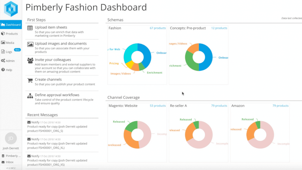Pimberly Features _ Dashboards