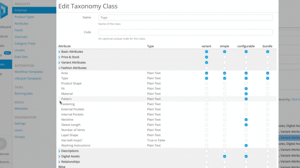 Pimberly Features _ Taxonomies