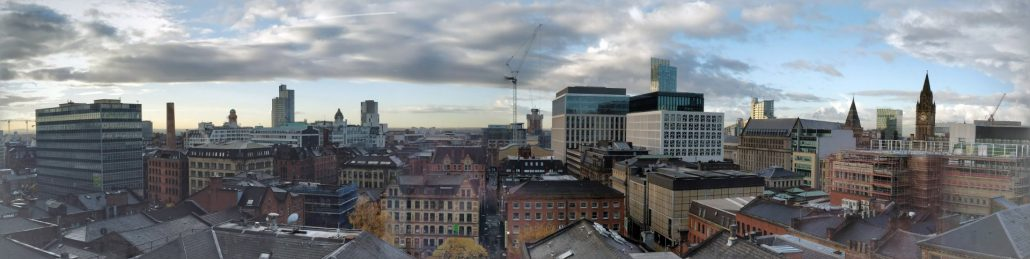 View of Manchester from Pimberly HQ