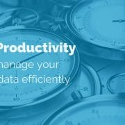 PIM & Productivity: How to manage your product data efficiently